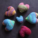 knit hearts to be my Valentine knitting pattern