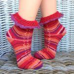 In Bloom Socks knitting pattern
