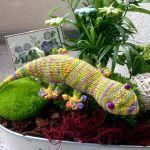 gecko toy knitting pattern