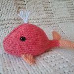 knit a whale knitting pattern