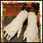 Fall in love mittens knitting pattern