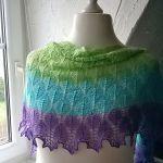 Fall in Love shawl knitting pattern