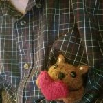 Sally the squirrel knitting pattern
