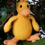 dalla the duck knitting pattern