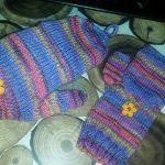 Mrsmumptz convertible mittens with thumb flap knitting pattern