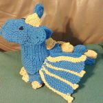 Duncan the Dragon pattern