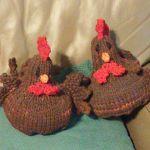 chicken knitting pattern