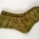 Chase the Dragonsocks knitting pattern