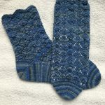 Chase the Dragon socks knitting pattern